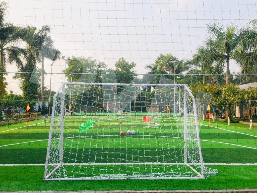 Một số hình ảnh của dự án sân bóng tại Trang trại giáo dục Erahouse, Long Biên, Hà Nội 10