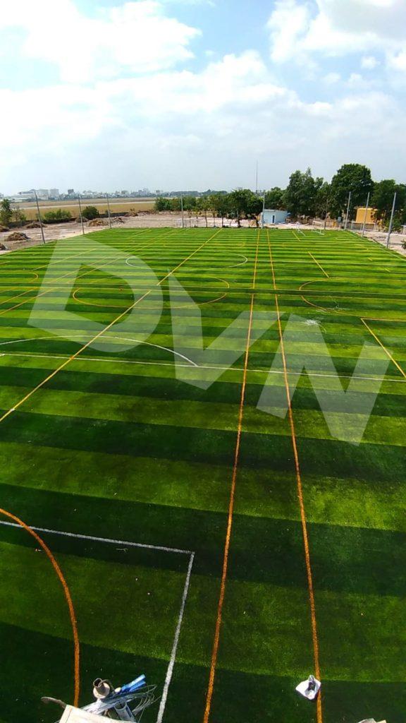 Một số hình ảnh của dự án sân bóng tạiTân Sơn, quận Tân Bình, Tp.HCM 1