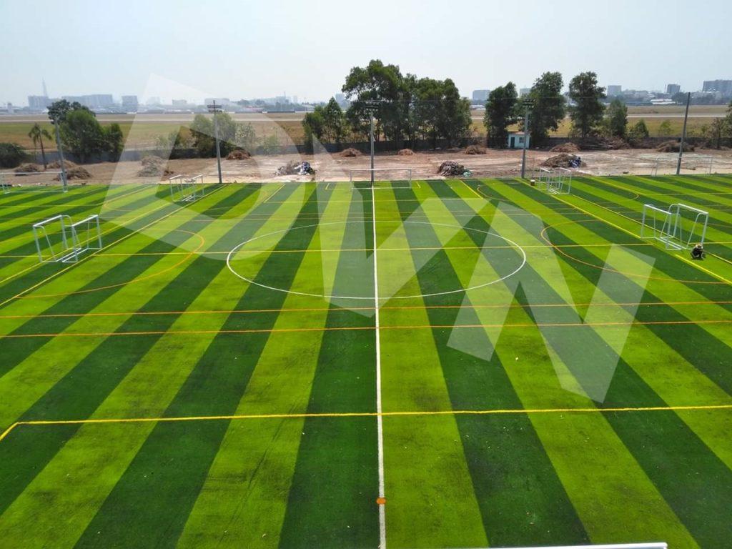 Một số hình ảnh của dự án sân bóng tạiTân Sơn, quận Tân Bình, Tp.HCM 2