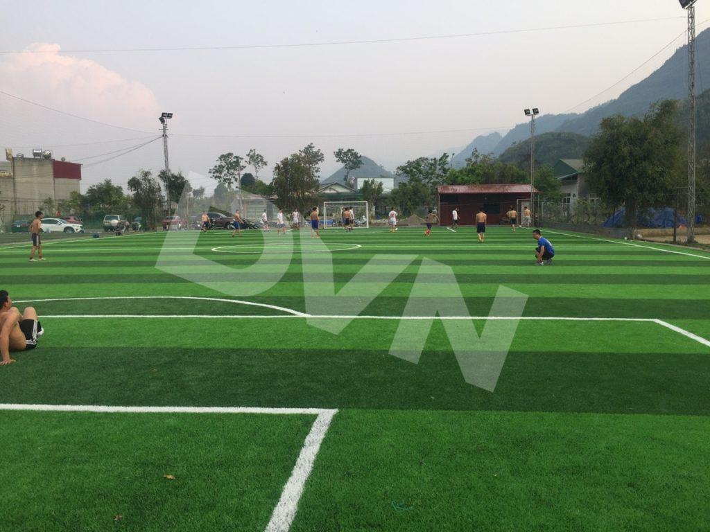 1, Một số hình ảnh của dự án sân bóng đátạiTp.Lai Châu 9
