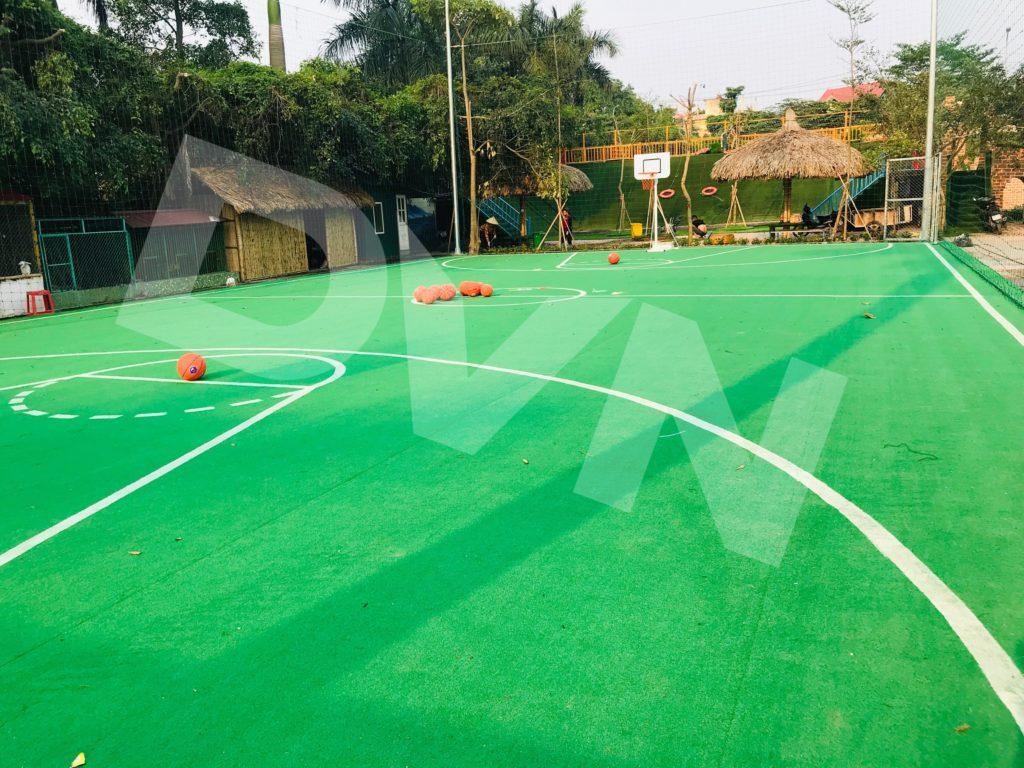 Một số hình ảnh của dự án sân bóng rổ tạiErahouse, Long Biên, Hà Nội 3