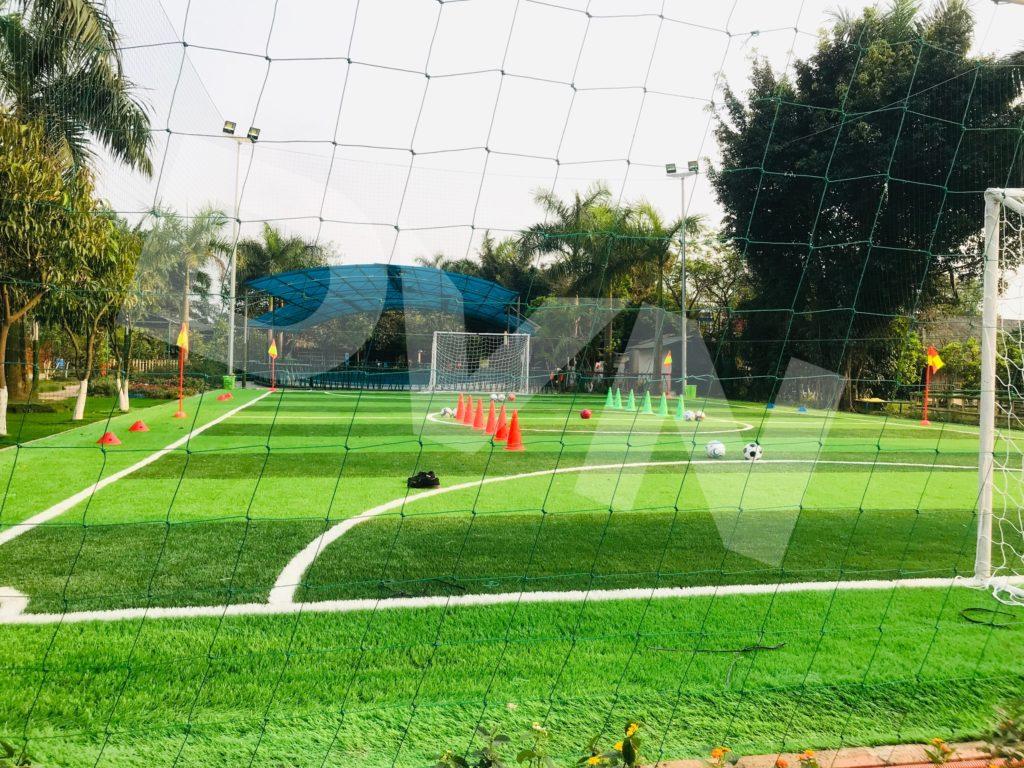Một số hình ảnh của dự án sân bóng tại Trang trại giáo dục Erahouse, Long Biên, Hà Nội 13