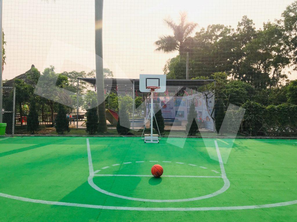 Một số hình ảnh của dự án sân bóng rổ tạiErahouse, Long Biên, Hà Nội 2