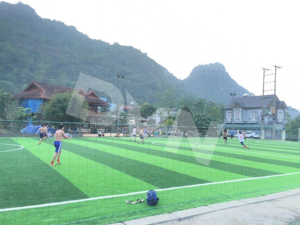 1, Một số hình ảnh của dự án sân bóng đátạiTp.Lai Châu 7