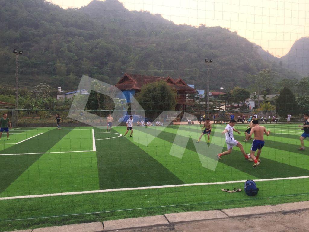 1, Một số hình ảnh của dự án sân bóng đátạiTp.Lai Châu 8