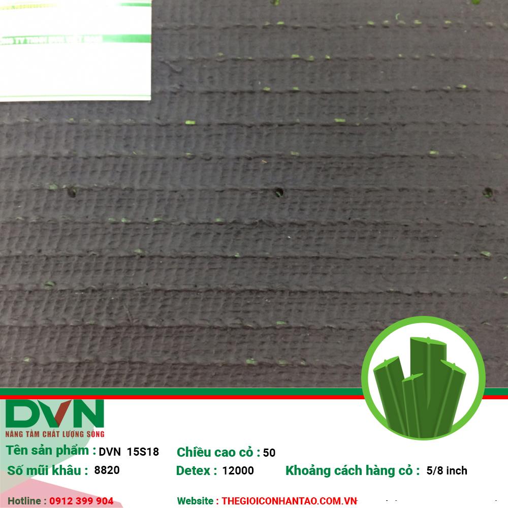 1, Hình ảnh sản phẩm cỏ nhân tạo sân bóng DVN 15S 3