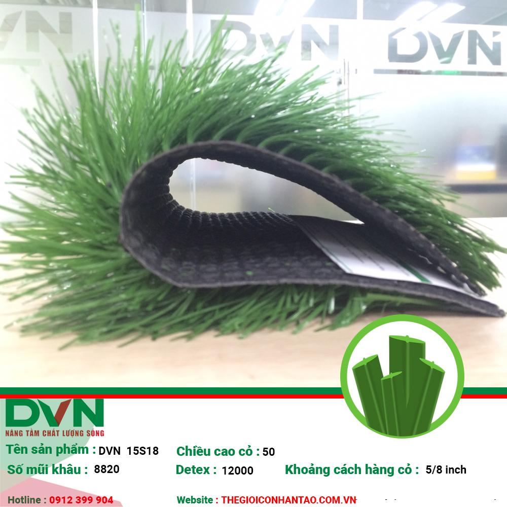 1, Hình ảnh sản phẩm cỏ nhân tạo sân bóng DVN 15S 2