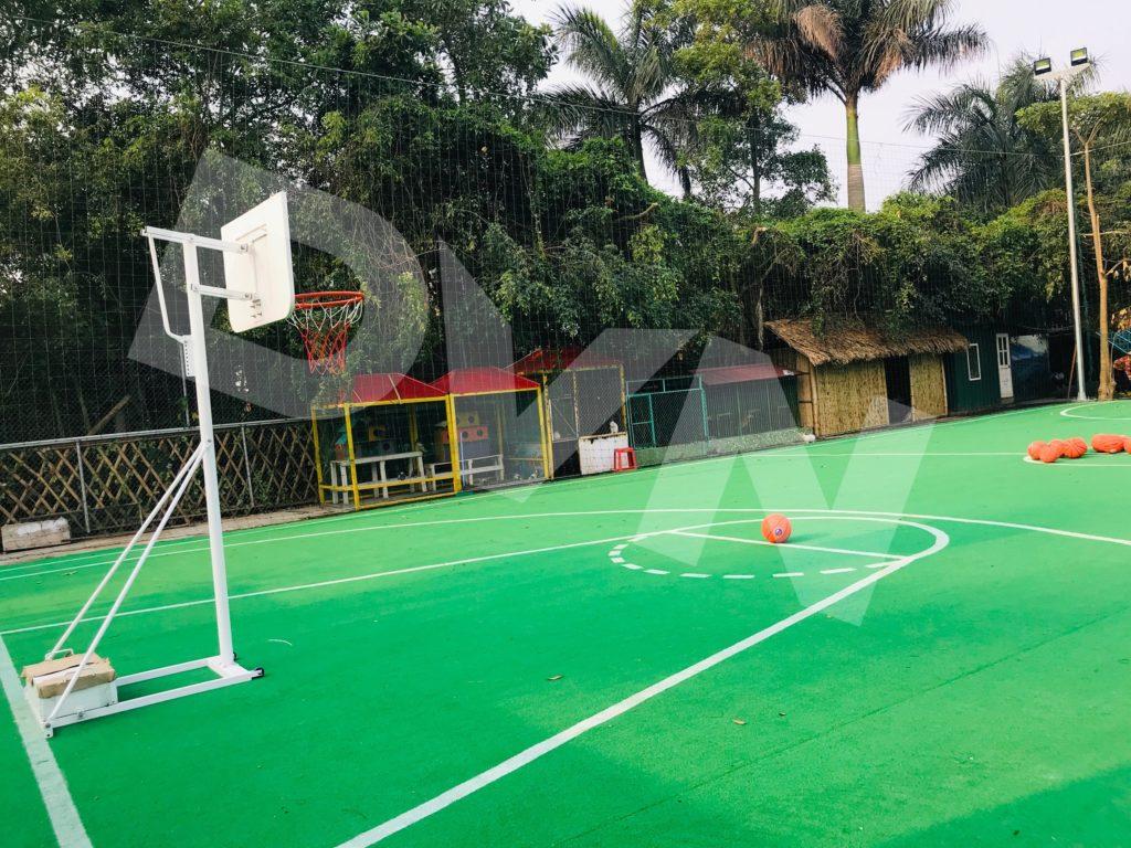 Một số hình ảnh của dự án sân bóng rổ tạiErahouse, Long Biên, Hà Nội 1