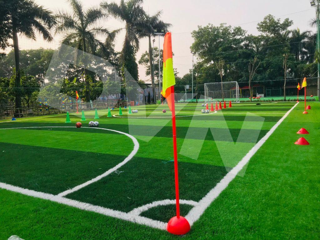 Một số hình ảnh của dự án sân bóng tại Trang trại giáo dục Erahouse, Long Biên, Hà Nội 12