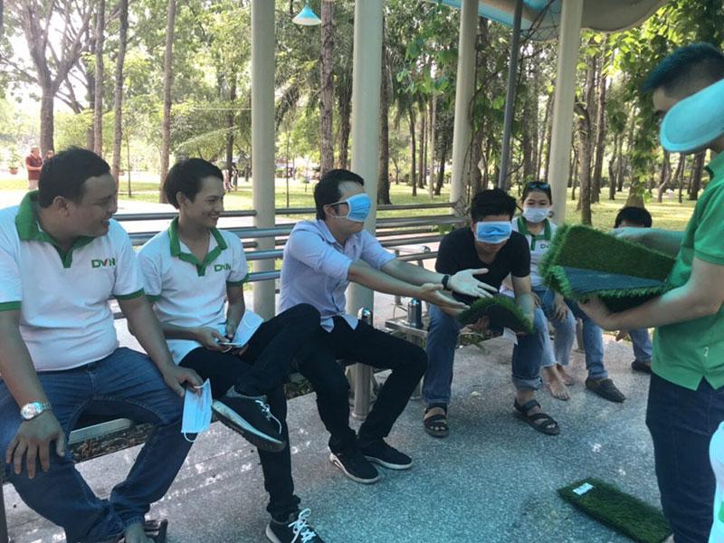 Khoảnh khắc team building chi nhánh Hồ Chí Minh