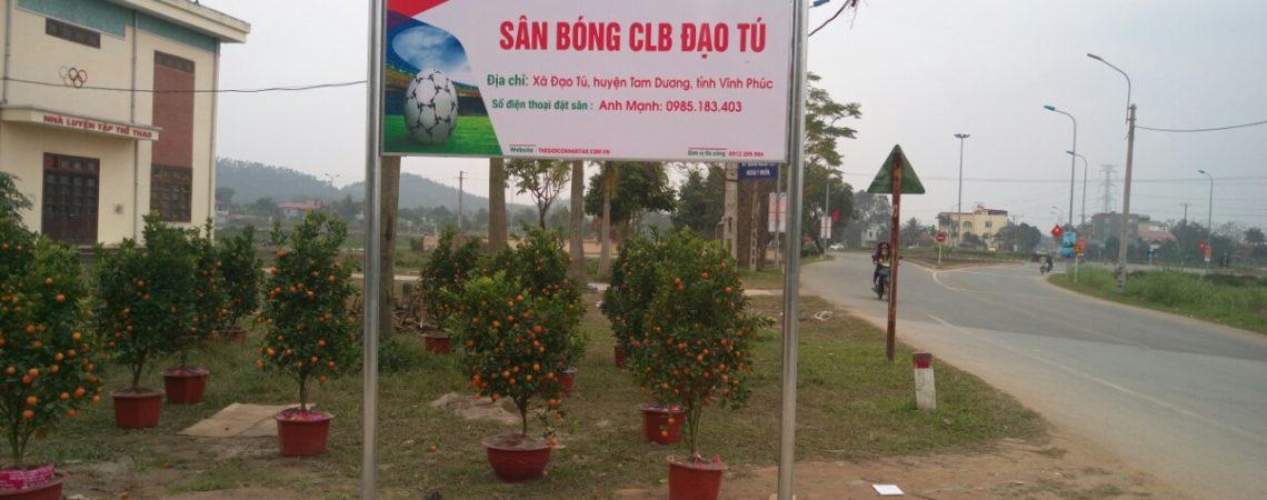 Dự án sân bóng CLB Đạo Tú, Tam Dương, Vĩnh Phúc