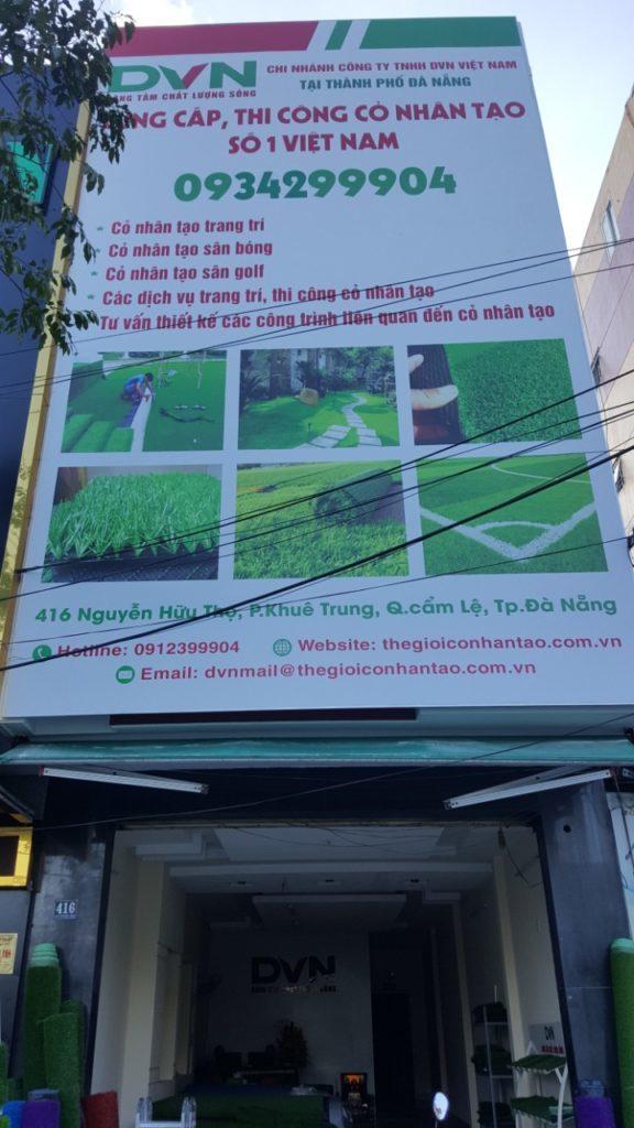 2. Mua cỏ nhân tạo sân vườn Đà Nẵng uy tín nhất ở đâu? 1