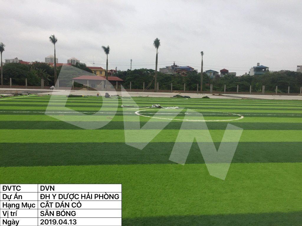 1, Một số hình ảnh của dự án sân bóng đá Trường Đại học Y dược Hải Phòng 11