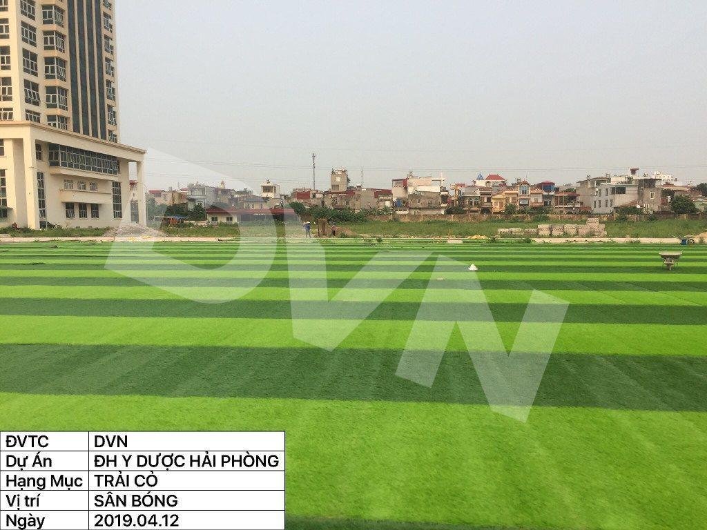 1, Một số hình ảnh của dự án sân bóng đá Trường Đại học Y dược Hải Phòng 12