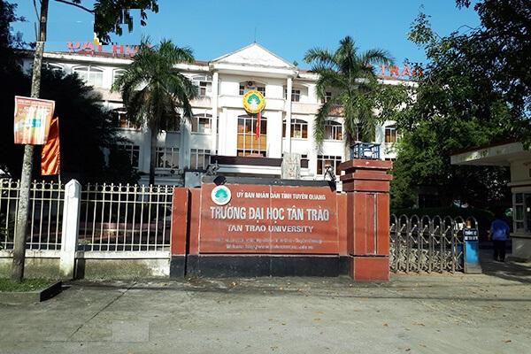 Dự án sân bóng đá Trường Đại học Tân Trào, Tuyên Quang