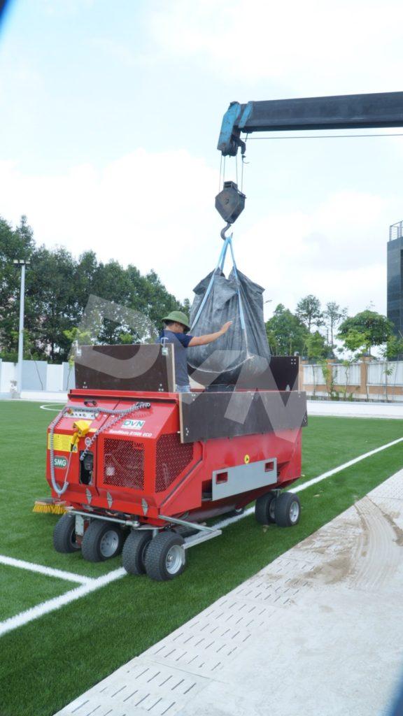 1, Một số hình ảnh của dự án sân bóng đá Blue Sky Việt Hùng 8