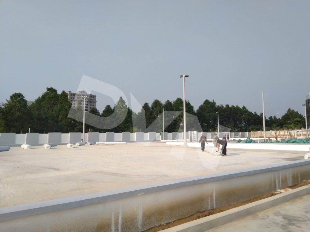 1, Một số hình ảnh của dự án sân bóng đá Blue Sky Việt Hùng 1