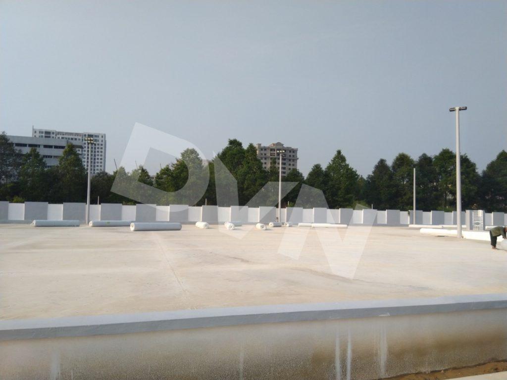 1, Một số hình ảnh của dự án sân bóng đá Blue Sky Việt Hùng 2