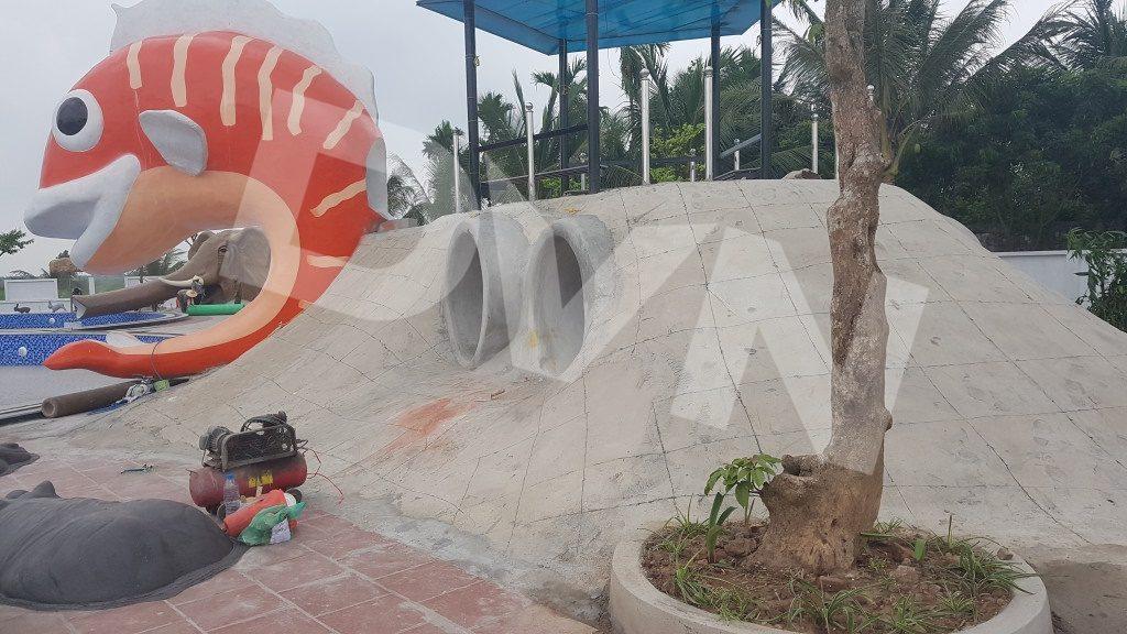 1, Một số hình ảnh của dự án Khu vui chơi Kim Thành, Hải Dương 2
