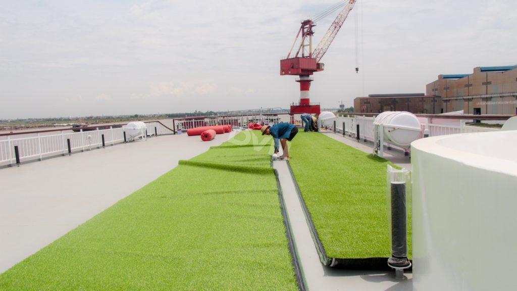 1, Một số hình ảnh của dự ánTrải cỏ Du thuyền 5 sao Amour Cruise 7