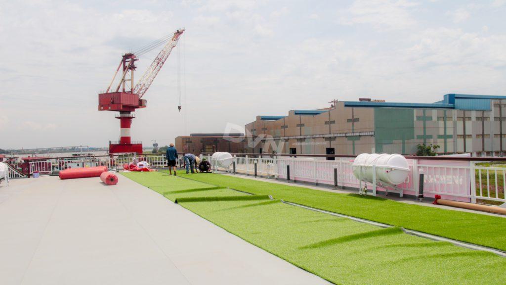 1, Một số hình ảnh của dự ánTrải cỏ Du thuyền 5 sao Amour Cruise 8