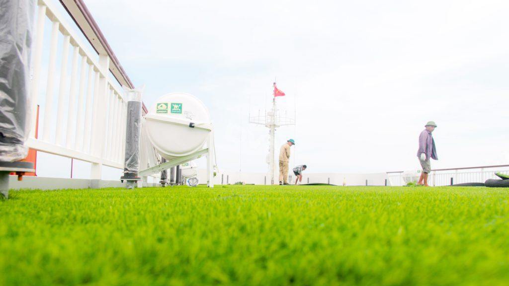 1, Một số hình ảnh của dự ánTrải cỏ Du thuyền 5 sao Amour Cruise 17