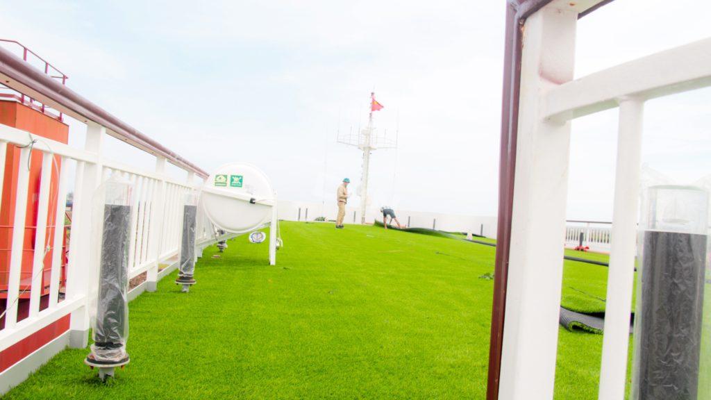 1, Một số hình ảnh của dự ánTrải cỏ Du thuyền 5 sao Amour Cruise 16