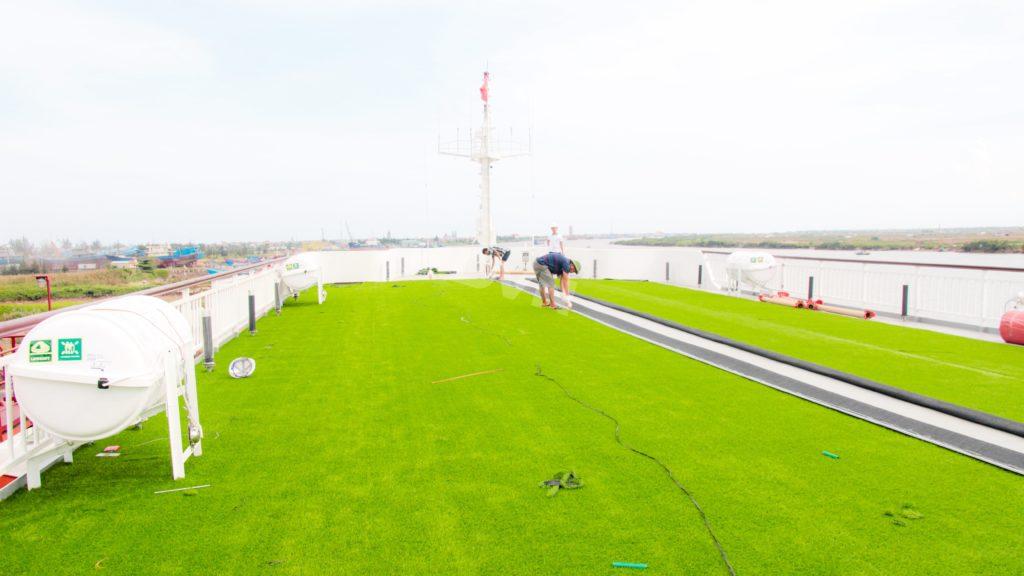 1, Một số hình ảnh của dự ánTrải cỏ Du thuyền 5 sao Amour Cruise 13