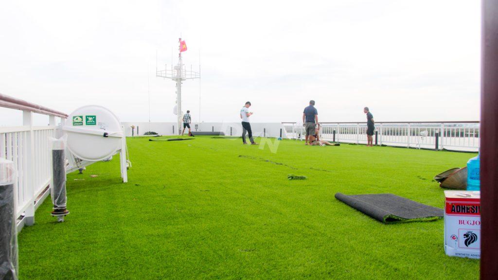 1, Một số hình ảnh của dự ánTrải cỏ Du thuyền 5 sao Amour Cruise 11