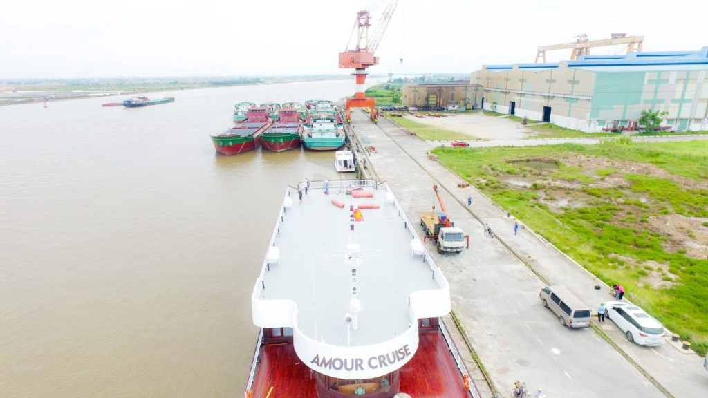 Hình ảnh du thuyền trước thi công