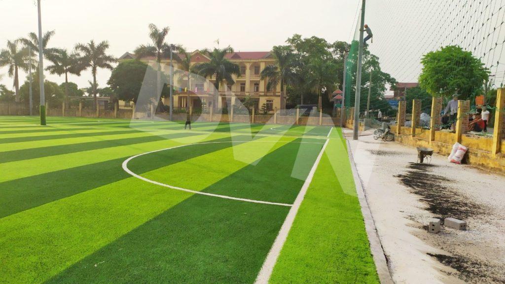 1, Một số hình ảnh của dự án sân bóng đá tại Vụ Bản, Nam Định 12
