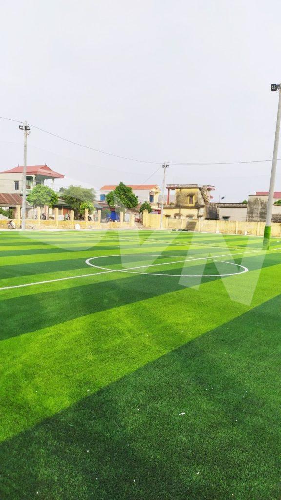 1, Một số hình ảnh của dự án sân bóng đá tại Vụ Bản, Nam Định 1