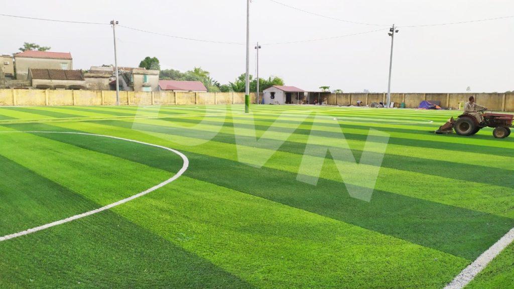 1, Một số hình ảnh của dự án sân bóng đá tại Vụ Bản, Nam Định 9