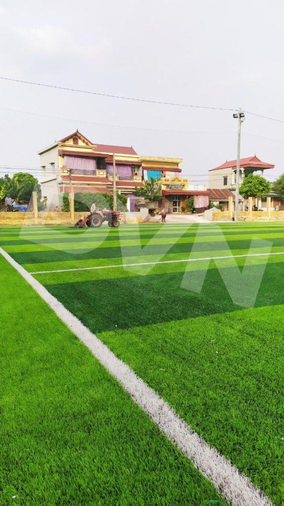 1, Một số hình ảnh của dự án sân bóng đá tại Vụ Bản, Nam Định 8