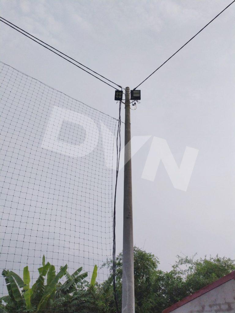 1,Bảo dưỡng Hạng mục đèn chiếu sáng, lưới quây 1