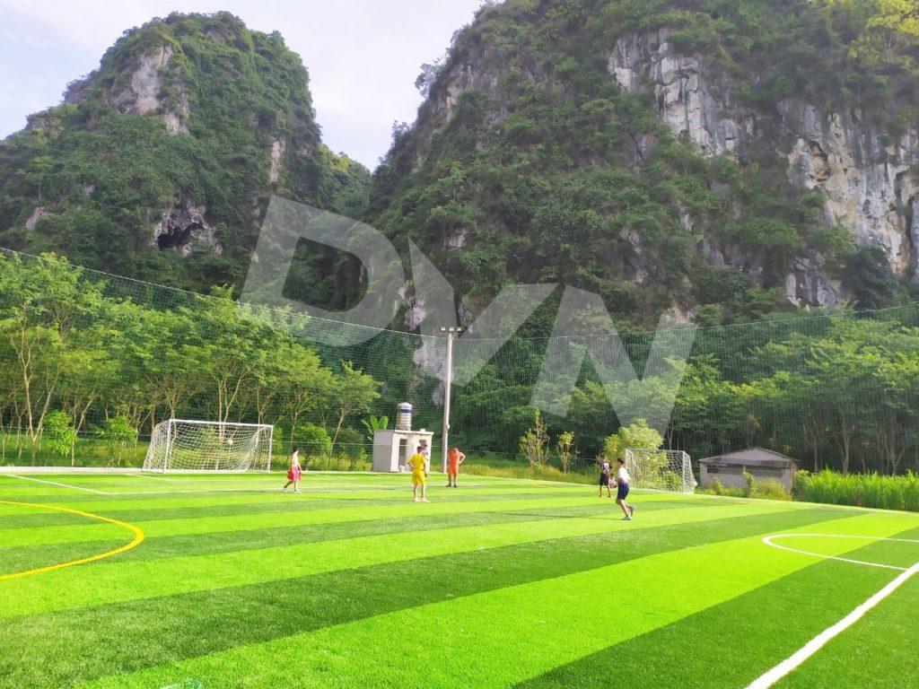 1, Một số hình ảnh của dự án sân bóng đá tại Thị trấn Văn Quan, Lạng Sơn 3