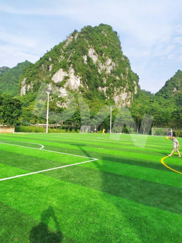 1, Một số hình ảnh của dự án sân bóng đá tại Thị trấn Văn Quan, Lạng Sơn 1