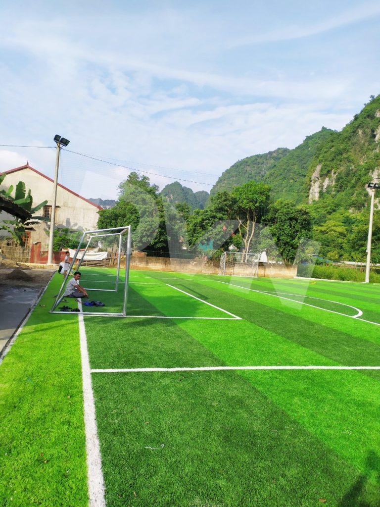 1, Một số hình ảnh của dự án sân bóng đá tại Thị trấn Văn Quan, Lạng Sơn 2