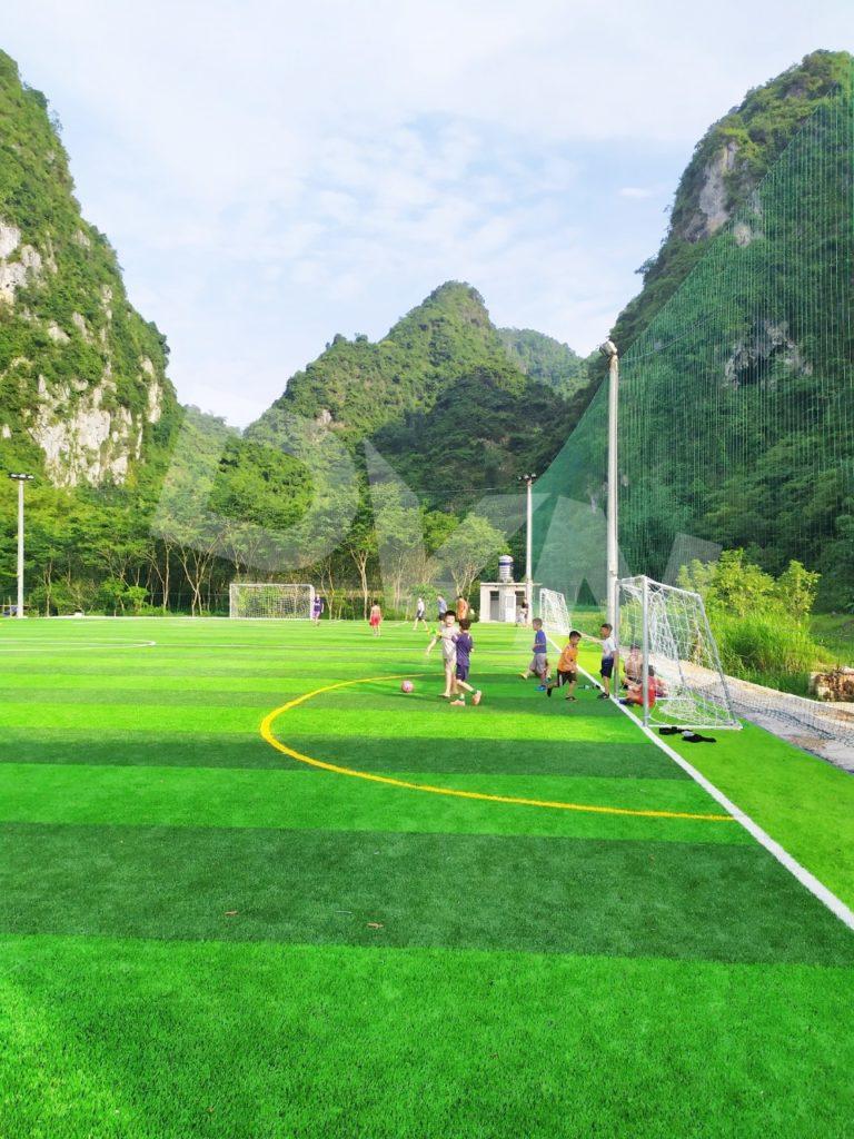 1, Một số hình ảnh của dự án sân bóng đá tại Thị trấn Văn Quan, Lạng Sơn 9