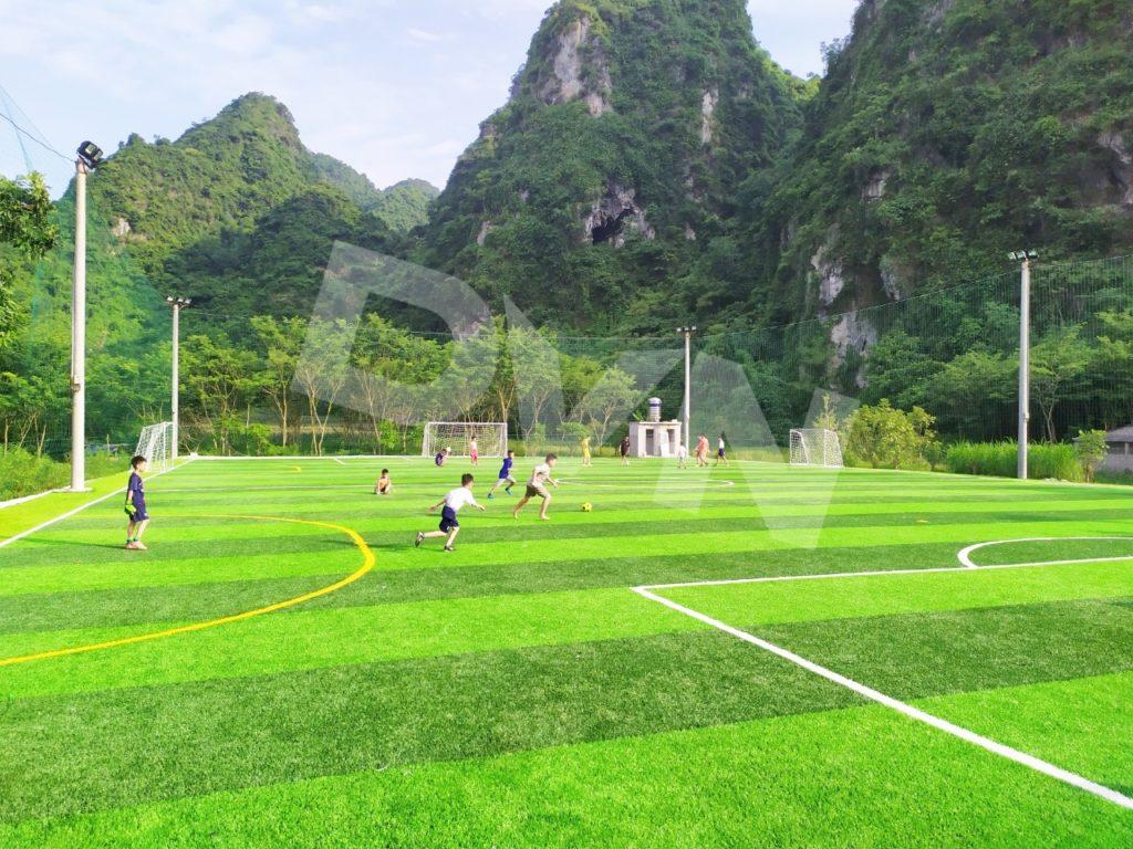 1, Một số hình ảnh của dự án sân bóng đá tại Thị trấn Văn Quan, Lạng Sơn 8