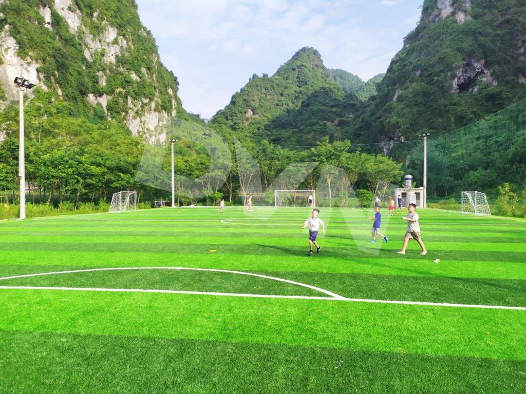 1, Một số hình ảnh của dự án sân bóng đá tại Thị trấn Văn Quan, Lạng Sơn 4