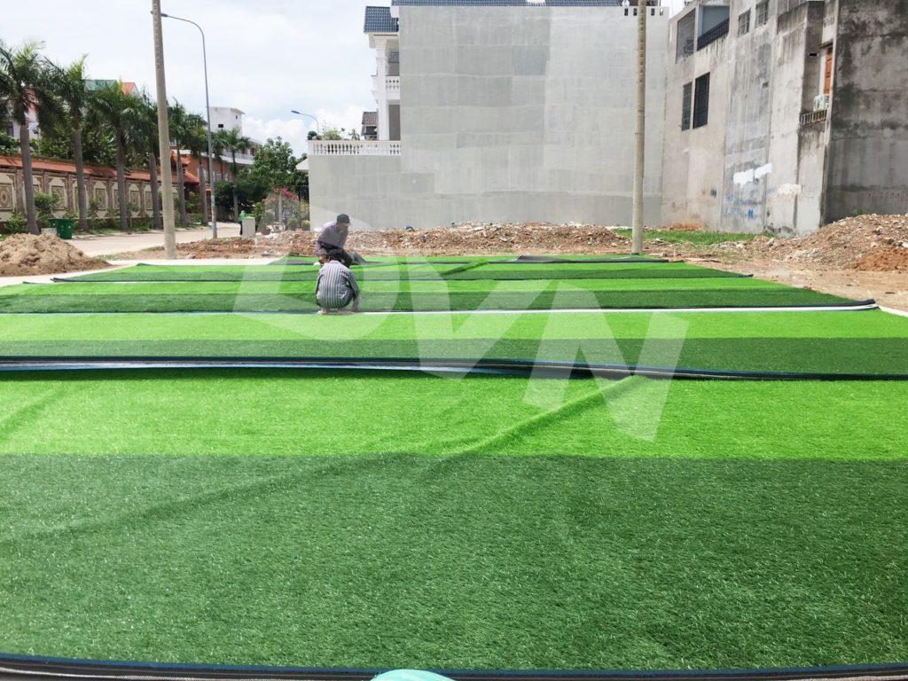 1, Một số hình ảnh của dự án sân bóng đá tại Dĩ An, Bình Dương 2
