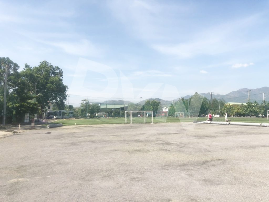 Một số hình ảnh của dự án sân bóng đá tại Nha Trang, Khánh Hòa 2
