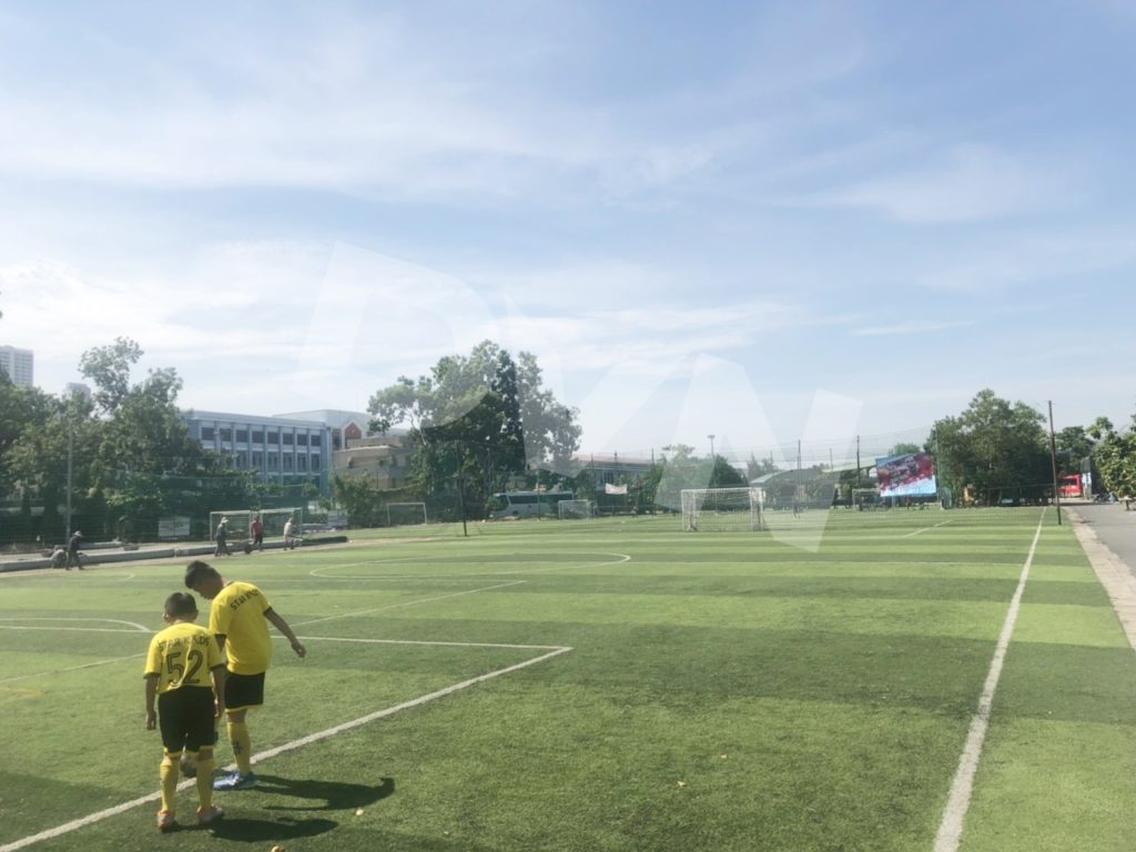 Một số hình ảnh của dự án sân bóng đá tại Nha Trang, Khánh Hòa 6