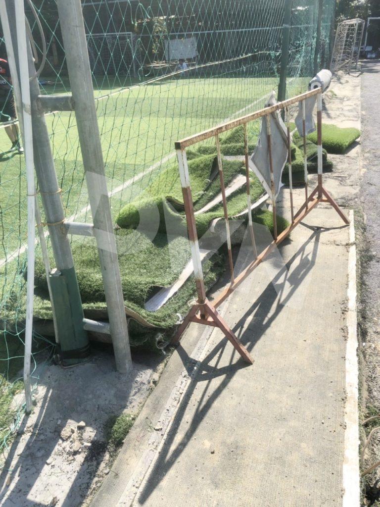 Một số hình ảnh của dự án sân bóng đá tại Nha Trang, Khánh Hòa 1