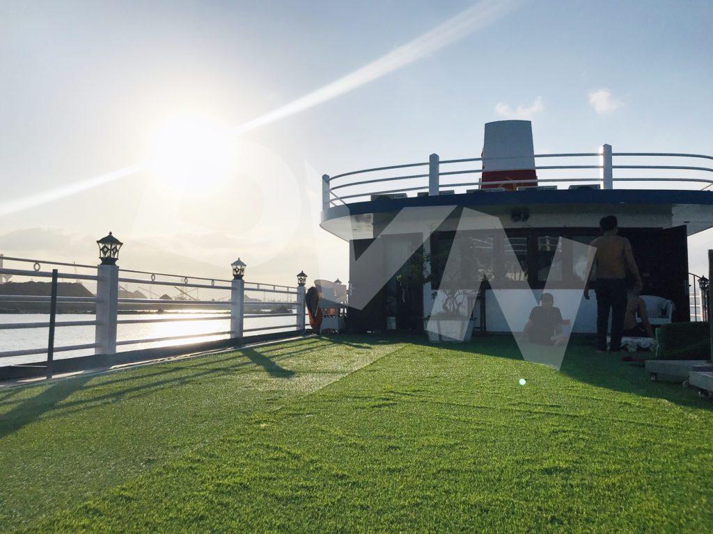 1, Một số hình ảnh của dự ánTrải cỏ Du thuyền Hạ Long Silversea Cruise 11