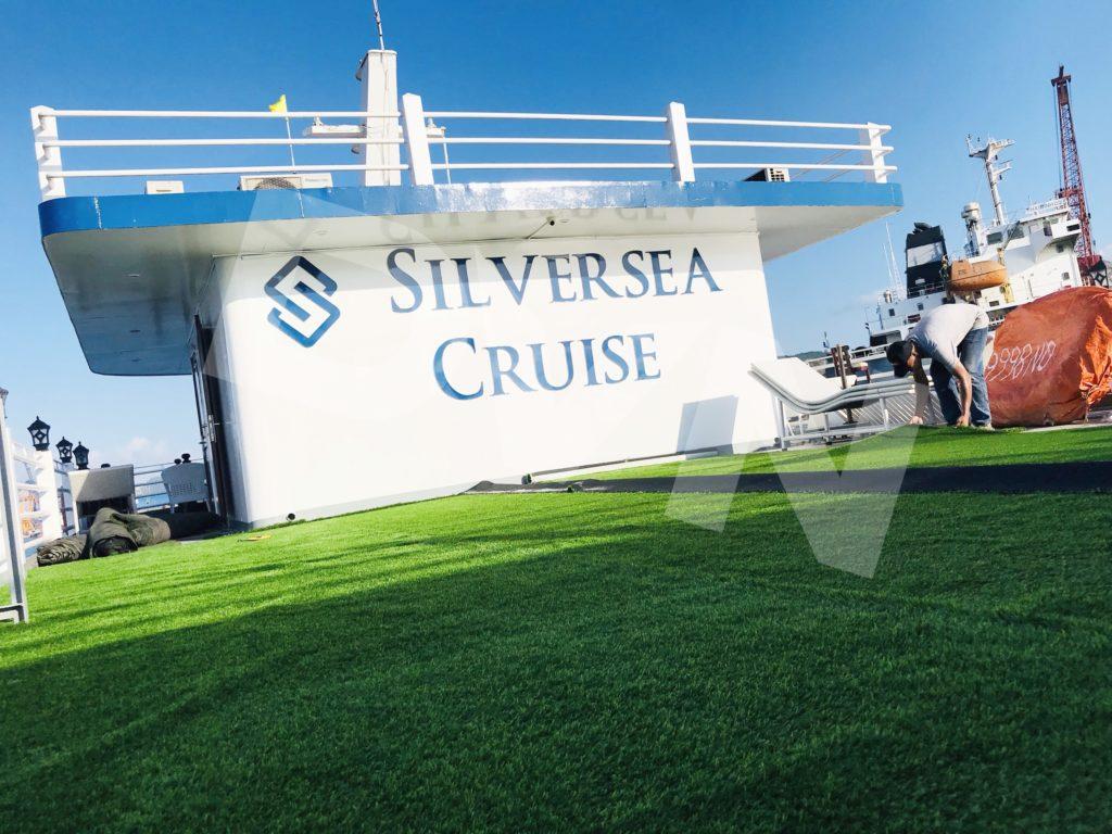 1, Một số hình ảnh của dự ánTrải cỏ Du thuyền Hạ Long Silversea Cruise 10