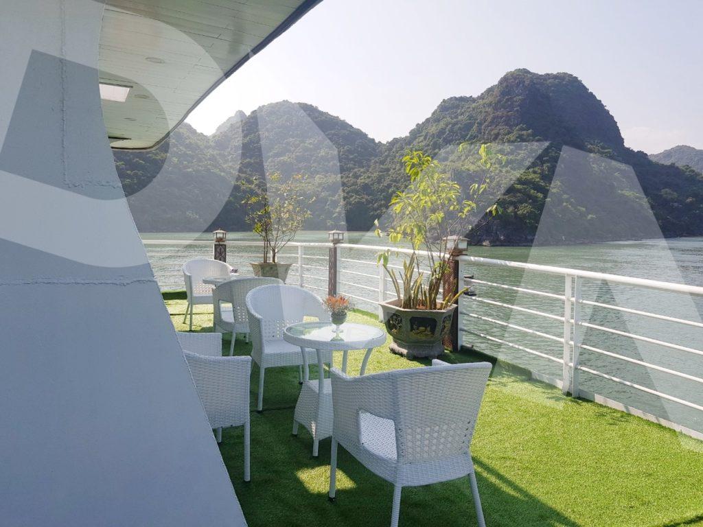 1, Một số hình ảnh của dự ánTrải cỏ Du thuyền Hạ Long Silversea Cruise 9