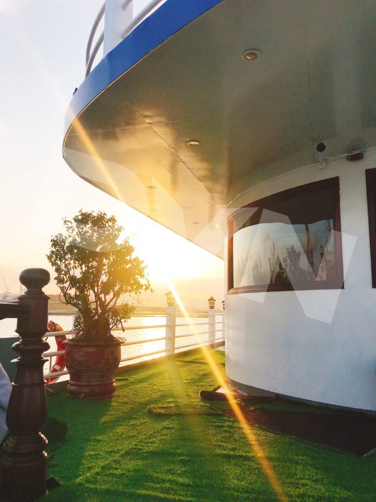 1, Một số hình ảnh của dự ánTrải cỏ Du thuyền Hạ Long Silversea Cruise 8