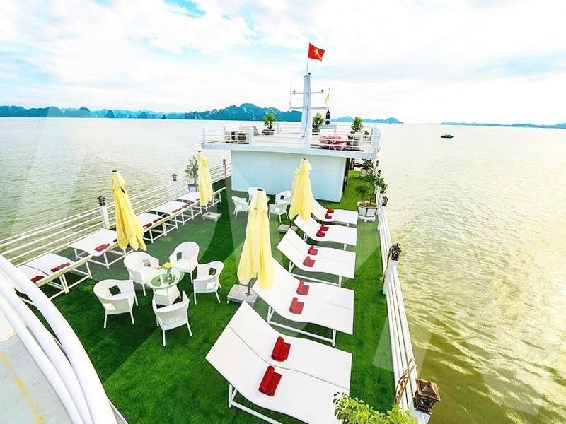 1, Một số hình ảnh của dự ánTrải cỏ Du thuyền Hạ Long Silversea Cruise 5